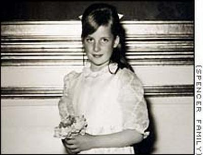 Young Diana Spencer