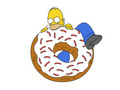 hom,er  - homer-simpson wallpaper