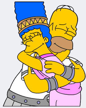 homer and marge picha