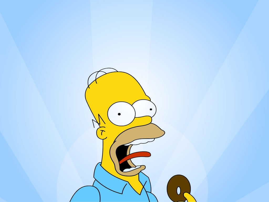 homers wallpapers homer simpson wallpaper 10030154