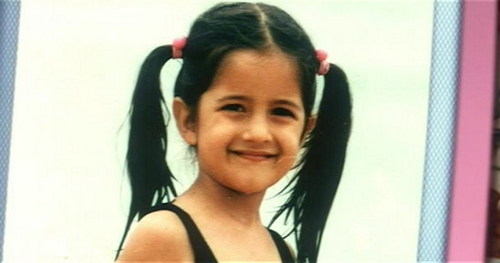Katrina Kaif wallpaper called karina kaif childhood
