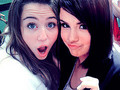 m.s - miley-cyrus-vs-selena-gomez photo