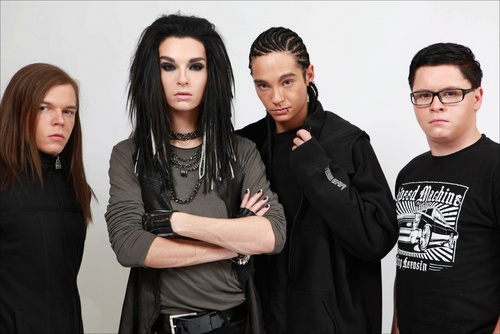 Tokio Hotel fond d'écran called paris 2009