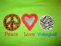 peace upendo volly ball