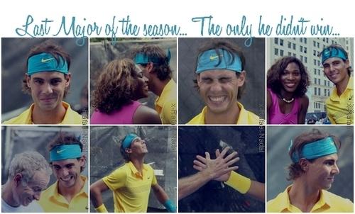 Rafael Nadal wallpaper entitled rafa and serena kiss