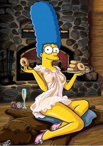 The Simpsons wallpaper called sexy marge