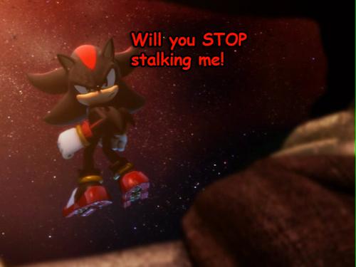 Shadow Hintergrund titled stalkers...