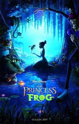 tiana and frog