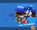 15th anniversary sonic - sonic-the-hedgehog wallpaper