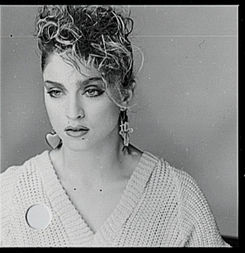 1983- madonna oleh Eric Watson Outtakes