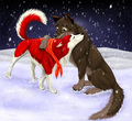 A cute picture - balto fan art