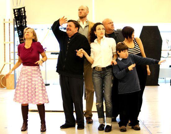 ADDAMS FAMILY MUSICAL (New photos)