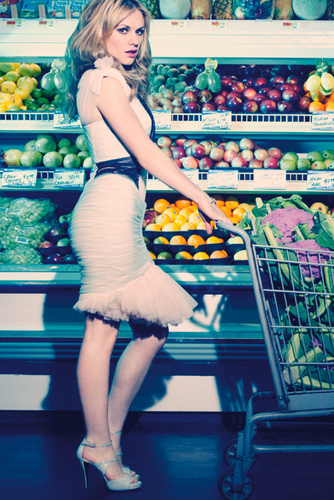Anna Paquin fotografia shoot for Marie Claire