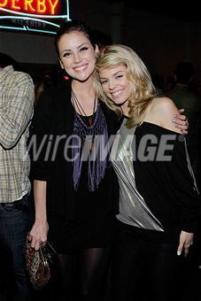 Annalynne McCord and Jessica Stroup