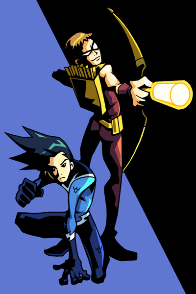 Aqualad and Speedy
