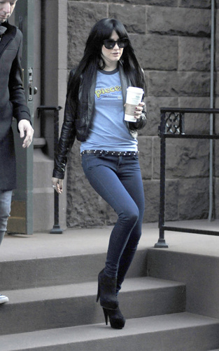 Ashlee Out in New York