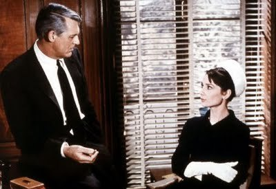 Audrey And Cary,In The Film Charade