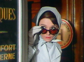 Audrey Hepburn,In The Film Charade