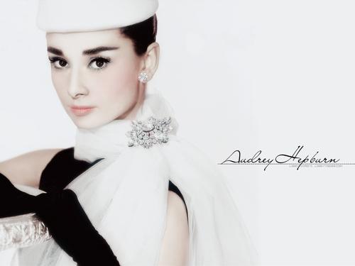 sinema bora karatasi la kupamba ukuta entitled Audrey