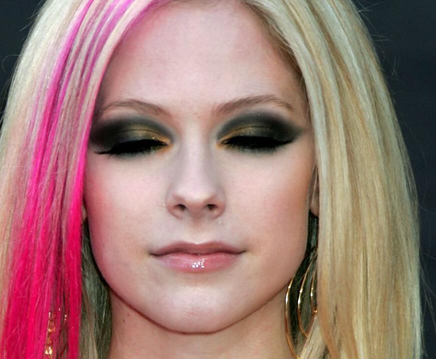 Avril Lavigne Eye Color