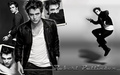 robert-pattinson - B'n'W Rob wallpaper