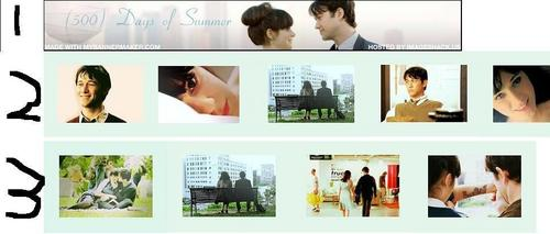 500 Days of Summer wallpaper titled Banner Choices