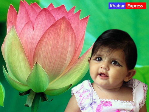 babies پیپر وال titled Beautiful Indian Babies