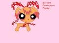 Berserk Powerpunk puppy