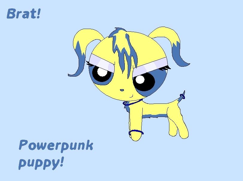 Brat PowerPunk 子犬