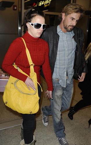 Britney arriving @ Miami Airport