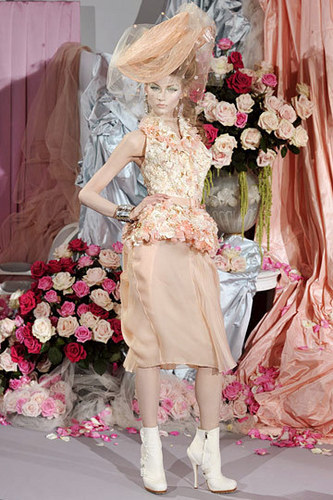 Christian Dior Spring 2010 Couture