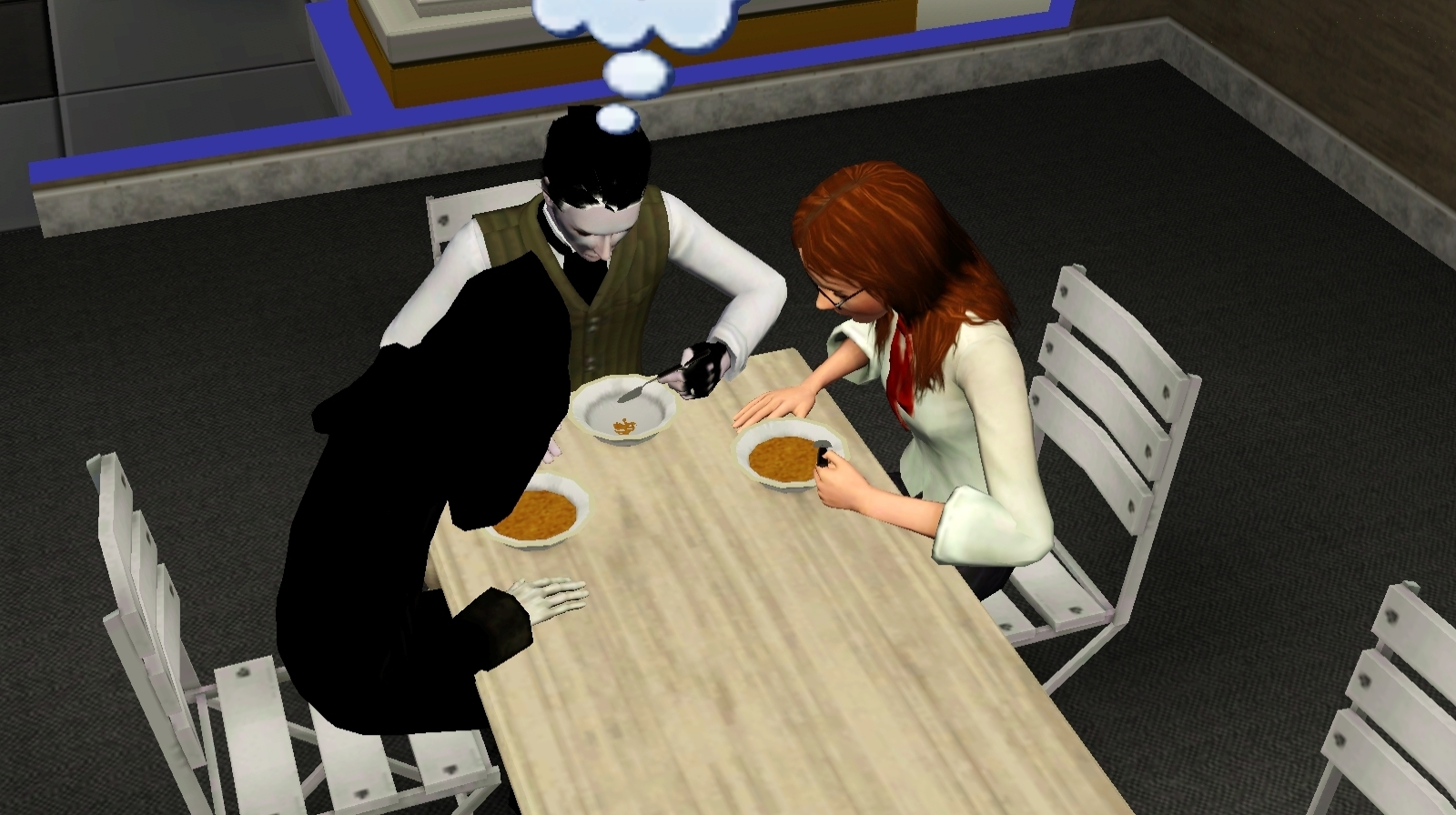 The Sims 3 Images Death Dinner Hd Wallpaper And Background Photos