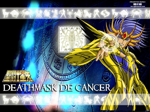 Saint Seiya (Knights of the Zodiac) fondo de pantalla called Deathmask the Cancer