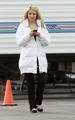Dianna Agron On Set - January 29th - glee photo
