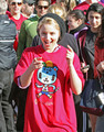 Dianna taking part in Youth Run 4 Haiti In Santa Monica