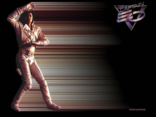 Captain Eo achtergrond titled Eo