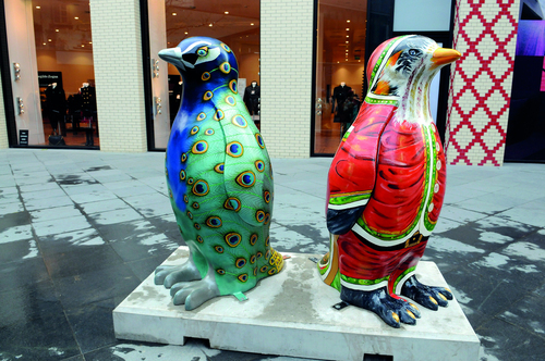 Go Penguins Art Event, Liverpool, UK