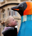 Go Penguins, Liverpool's hit public art event - penguins photo