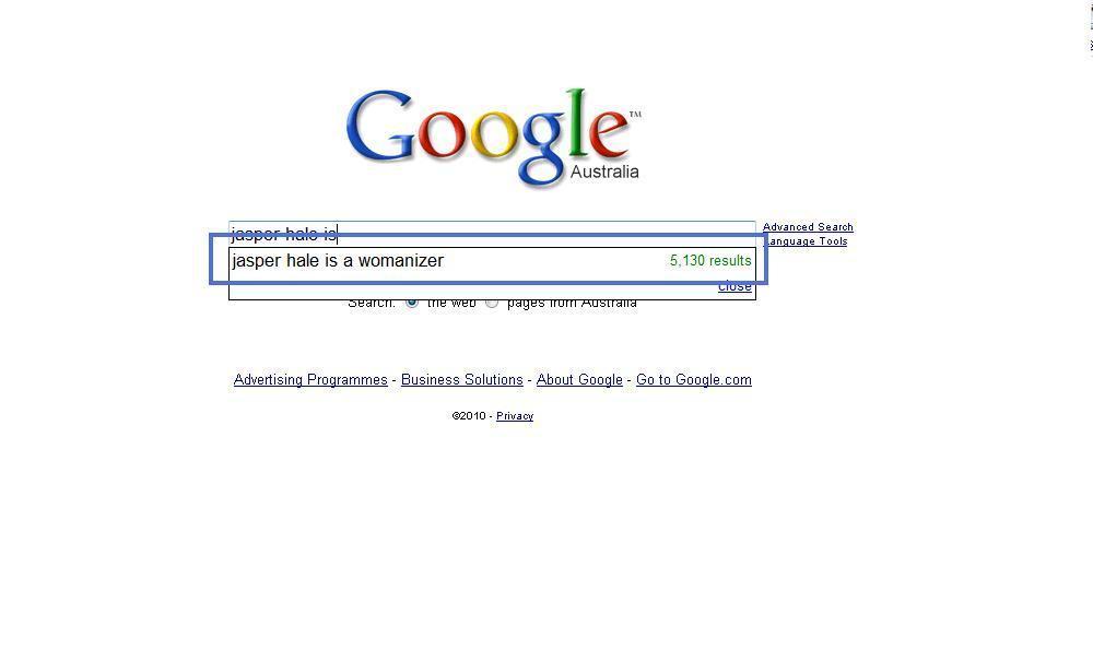 Google Search xD