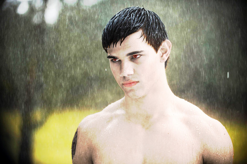 Jacob black as vampire
