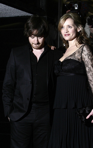 James McAvoy and Anne-Marie Duff: Red Carpet Mates