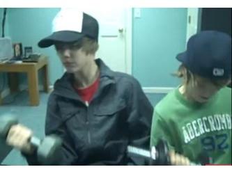 Justin Bieber & Christian Beadles strongs :D