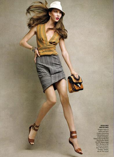 Models Karlie Kloss.
