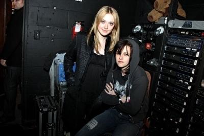 Kristen & Dakota at the Joan Jett's concerto