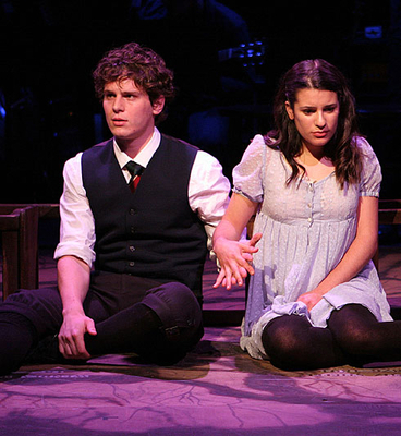 Lea and Cast in Spring Awakeing (2006-09)