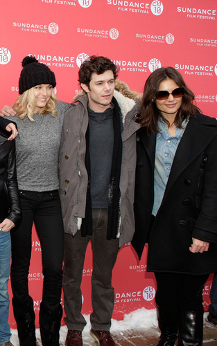 Malin, Adam and Katie @ Sundance Festival 2010