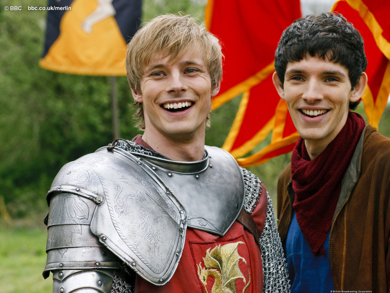 Merlin - Behind the Scenes - Merlin on BBC Photo (10104421