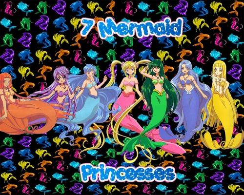Mermaid Melody Meerjungfrauen