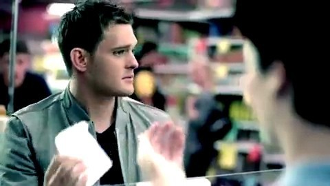Michael Bubl- &#39;Haven&#39;t Met You Yet&#39; music video - michael-buble Screencap