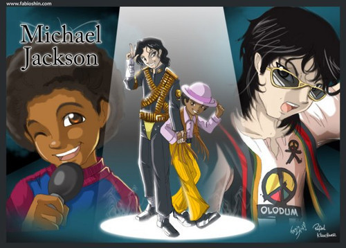 Michael cartoon